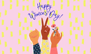 Happy Women's Day graphic