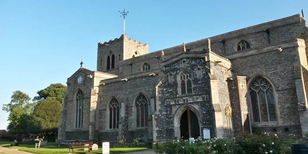 St Marys Church Attleborough